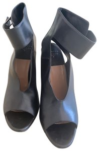 Laurence Dacade Leather black Sandals