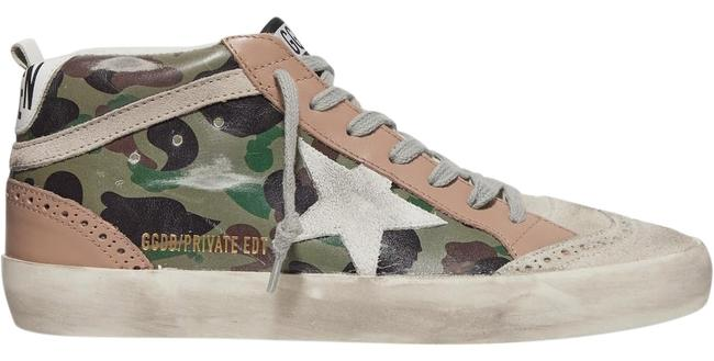 Item - Mid Star Distressed Leather Sneakers Size EU 39 (Approx. US 9) Regular (M, B)