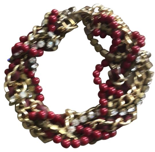 Preload https://img-static.tradesy.com/item/26134836/fallon-gold-and-red-necklace-0-1-540-540.jpg