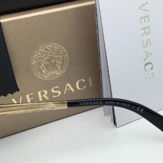 Versace New VERSACE Sunglasses VE 2161 1002/F9 Gold & Black /Brown+Gold Mirror Image 3