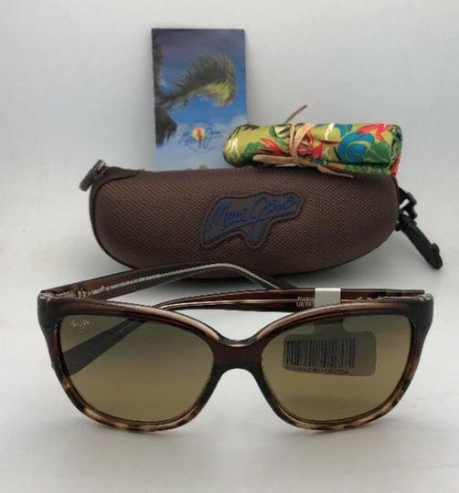 Maui Jim Polarized MAUI JIM Sunglasses STARFISH MJ 744-01T Tortoise Brown w/HCL Image 1