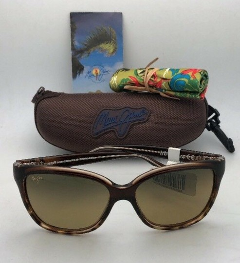 Maui Jim Polarized MAUI JIM Sunglasses STARFISH MJ 744-01T Tortoise Brown w/HCL Image 10