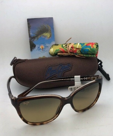 Maui Jim Polarized MAUI JIM Sunglasses STARFISH MJ 744-01T Tortoise Brown w/HCL Image 11