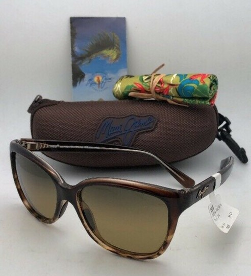 Maui Jim Polarized MAUI JIM Sunglasses STARFISH MJ 744-01T Tortoise Brown w/HCL Image 2