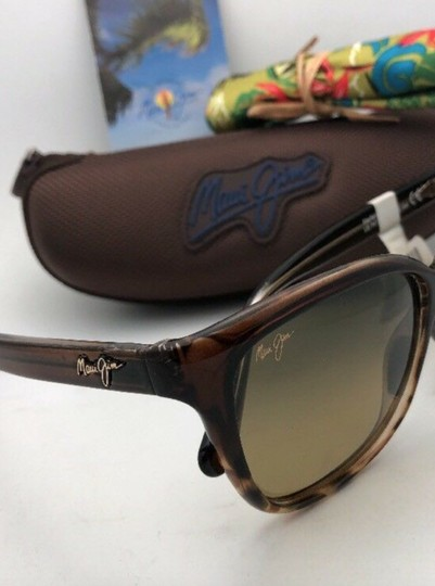 Maui Jim Polarized MAUI JIM Sunglasses STARFISH MJ 744-01T Tortoise Brown w/HCL Image 4