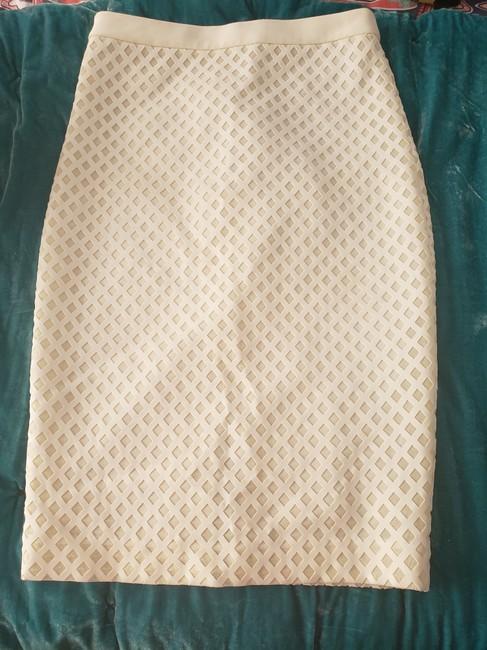 Elizabeth and James Pencil Mesh Cut-out Date Night Retro Skirt Image 1