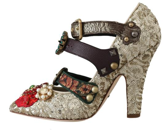 Dolce&Gabbana Gold Pumps Image 4