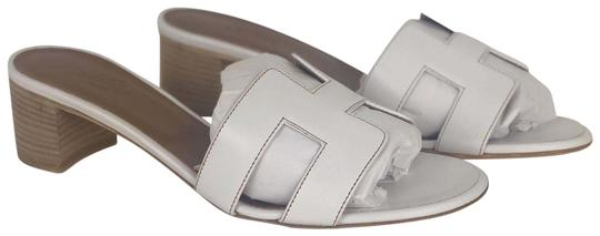 Hermès White Sandals Image 0