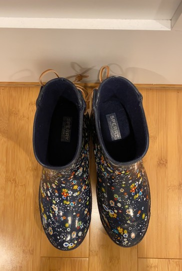 Sperry navy Boots Image 2