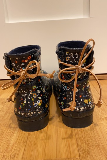 Sperry navy Boots Image 3