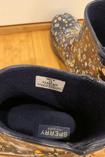 Sperry navy Boots Image 4