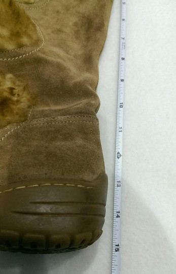 Söfft Leather Suede BROWN RUST TAN Boots Image 2