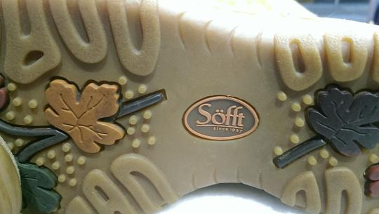 Söfft Leather Suede BROWN RUST TAN Boots Image 9