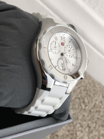 Michele Jelly bean Chronograph Watch Image 3