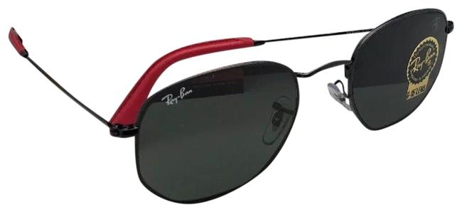 Item - Rb 3548-n-m F009/31 Black Red W Scuderia Ferrari F009/31 W/ G15 Sunglasses