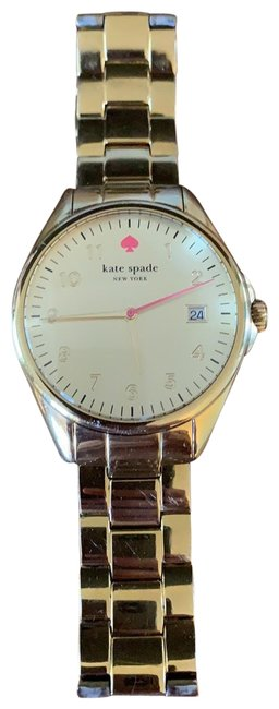 Item - Gold with Pink Accents Watch