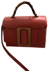 Boyy Satchel in red( Indian red, more like a pink red)
