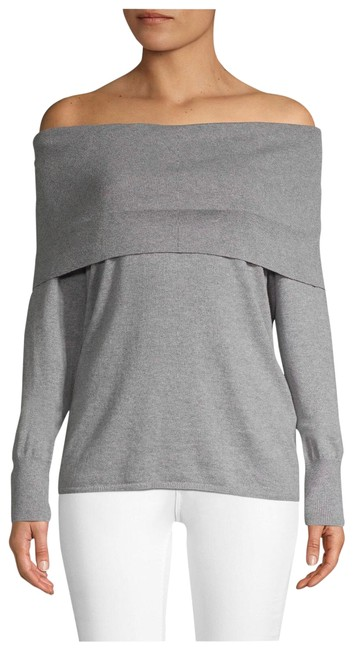 Preload https://img-static.tradesy.com/item/26136569/joie-off-the-shoulder-heather-grey-sweater-0-1-650-650.jpg