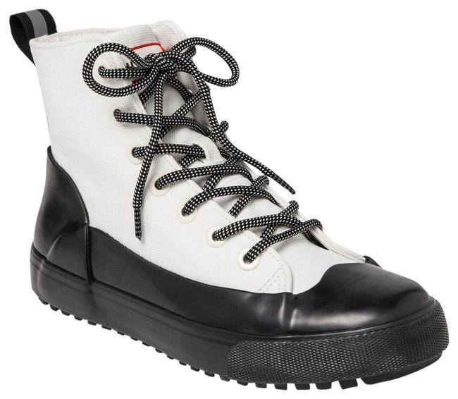 Item - White and Black Rain Boot Special Edition Target Collaboration Sneakers Size US 8.5 Regular (M, B)
