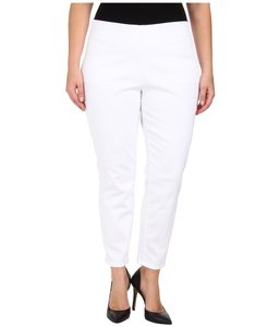 Jag Monochrome Stretchy Straight Leg Jeans-Light Wash