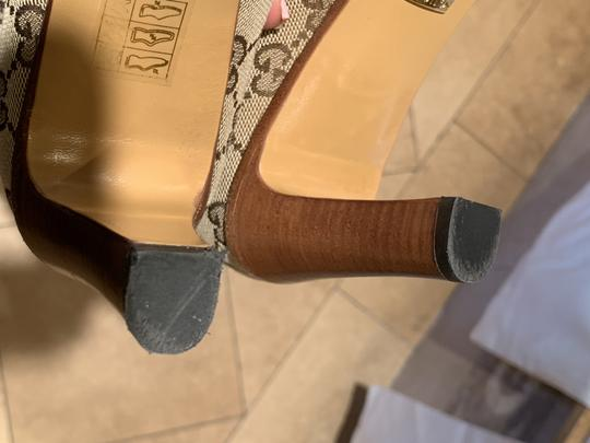 Gucci Brown Beige Boots Image 7