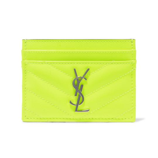 Preload https://img-static.tradesy.com/item/26137976/saint-laurent-monogram-quilted-leather-neon-card-holder-case-wallet-0-0-540-540.jpg