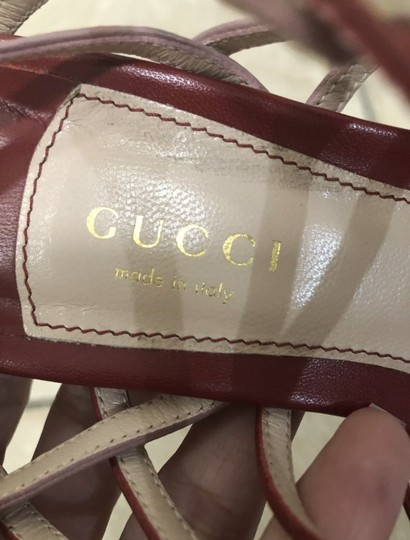 Gucci Red/pink Sandals Image 5
