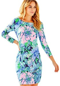 Lilly Pulitzer short dress Multi Party Thyme on Tradesy