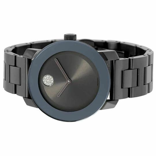Movado Bold Stainless Steel Crystal Dot 3600103 Image 5