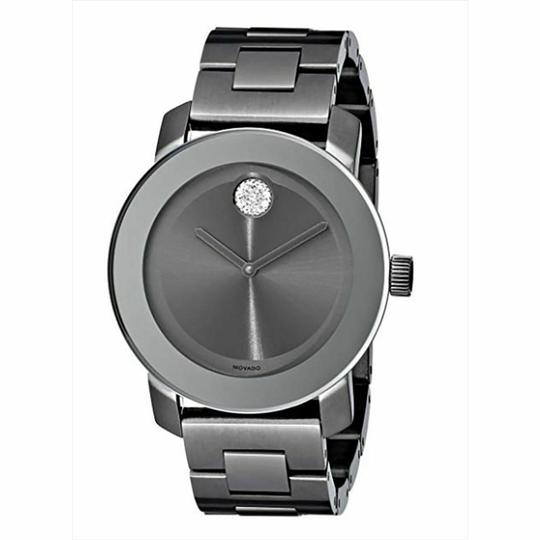 Movado Bold Stainless Steel Crystal Dot 3600103 Image 8
