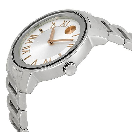 Movado Bold Stainless Steel Roman Numeral Dial 3600196 Image 2