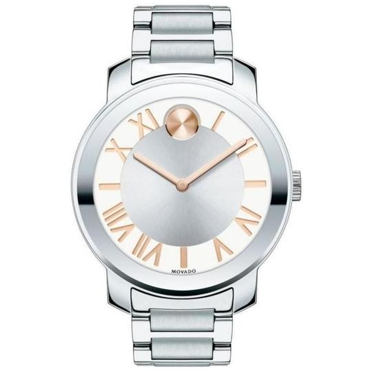 Movado Bold Stainless Steel Roman Numeral Dial 3600196 Image 8