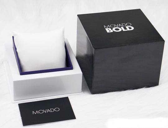 Movado Bold Stainless Steel Black Dial Unisex 3600397 Image 11