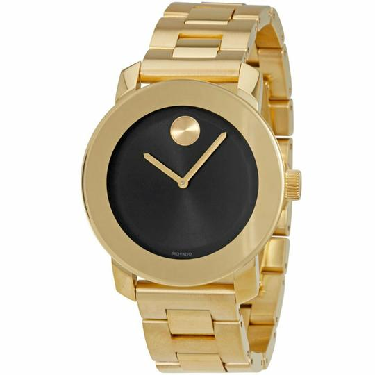 Movado Bold Stainless Steel Black Dial Unisex 3600397 Image 4