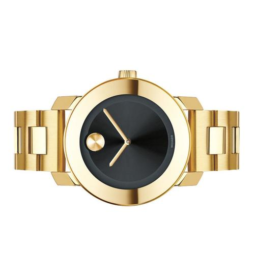 Movado Bold Stainless Steel Black Dial Unisex 3600397 Image 9