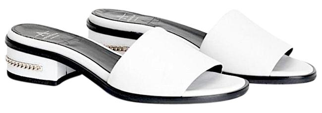 Item - White with Tag Ryder Leather Slide Sandals Size EU 37.5 (Approx. US 7.5) Regular (M, B)