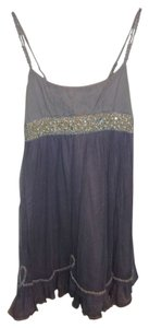 Free People short dress Lavender, Silver on Tradesy