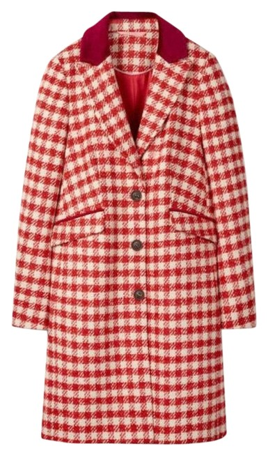 Item - Red Eastbourne Coat Size 6 (S)