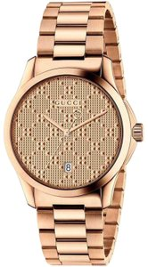 Gucci G-timeless Stainless Steel Diamante Dial Ya126482