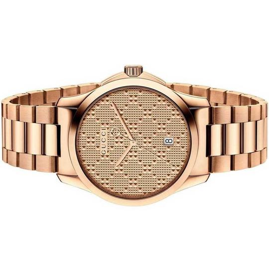 Gucci G-timeless Stainless Steel Diamante Dial Ya126482 Image 1