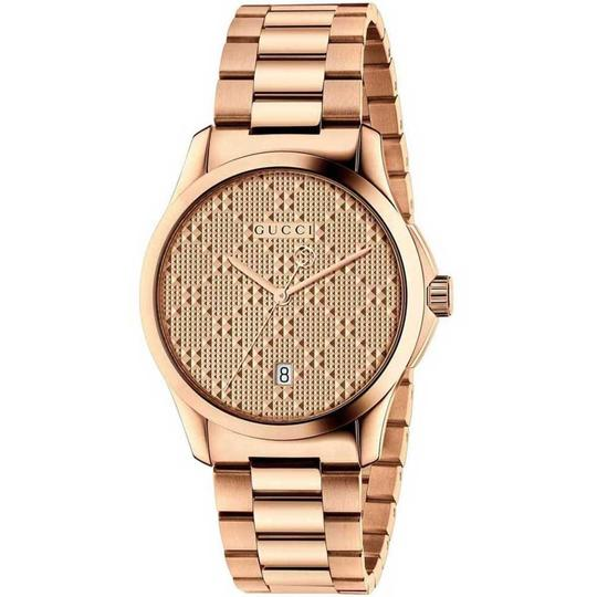 Gucci G-timeless Stainless Steel Diamante Dial Ya126482 Image 8