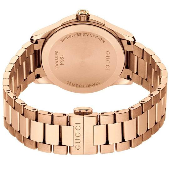 Gucci G-timeless Stainless Steel Diamante Dial Ya126482 Image 9