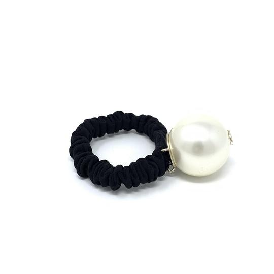 Chanel Pearl Hair Tie Image 1