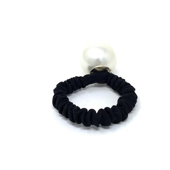 Chanel Pearl Hair Tie Image 2