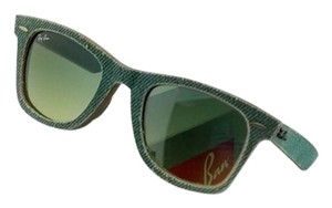 Ray-Ban RB2140-11663M Sunglasses Size 50mm 22mm 150mm Green