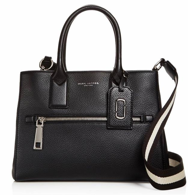 Marc Jacobs Gotham City Black Leather Tote Marc Jacobs Gotham City Black Leather Tote Image 1