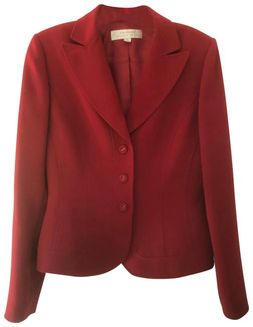 Item - Red Skirt Suit Size 4 (S)