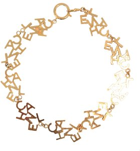 Chanel Chanel Gold Choker/Necklace