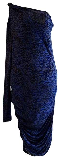 Item - Black and Blue Collection Short Night Out Dress Size 8 (M)