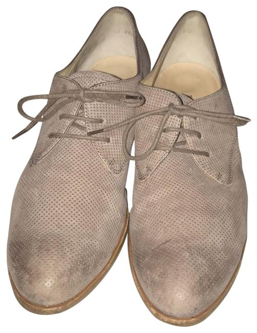 Item - Taupe Perforated Designed Loafers Flats Size US 8 Regular (M, B)